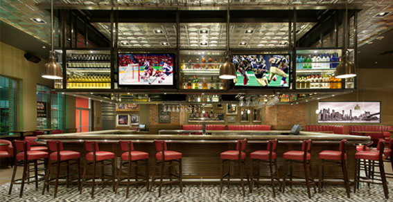 Restaurants - TGI Fridays Restaurant & Sports Bar - Embassy Suites by Hilton Niagara Falls - Fallsview Hotel, Canada